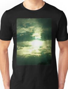 Bright Light from an Ethereal Sky Unisex T-Shirt