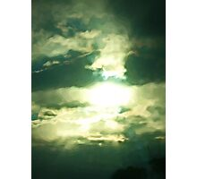 Bright Light from an Ethereal Sky Photographic Print