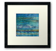 Blue Painting Framed Print