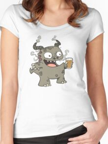 Rauch Beer Monster Women's Fitted Scoop T-Shirt