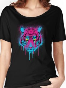 CMYK tiger Women's Relaxed Fit T-Shirt