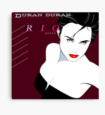 Duran Duran RIO Canvas Print