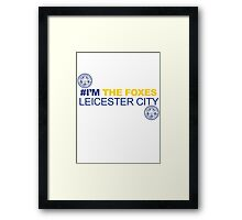 the foxes Leicester city Framed Print