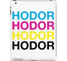CMYK Hodor iPad Case/Skin