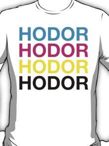 CMYK Hodor T-Shirt