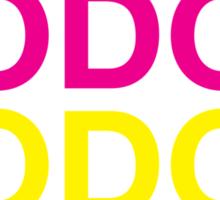 CMYK Hodor Sticker