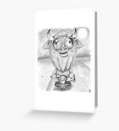 Buff Lowe Greeting Card