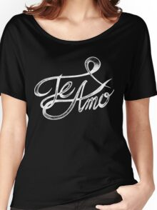 Te Amo I Love You In Spanish Women's Relaxed Fit T-Shirt