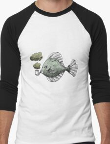 Fish Pipe Men's Baseball ¾ T-Shirt