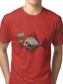 Fish Pipe Tri-blend T-Shirt