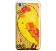 Zippy Canary iPhone Case/Skin