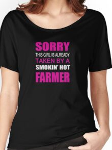 Taken By A Farmer Farmer Shirt Funny Women's Relaxed Fit T-Shirt