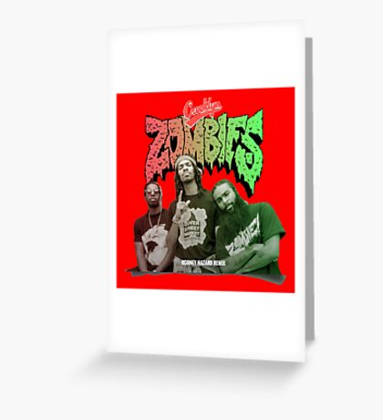 crooklyn zombies Greeting Card