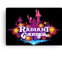 Radiant garden Canvas Print