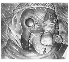 Storm Watchman Ganse Eyela Poster