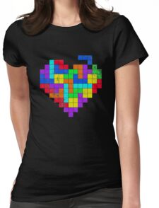 The Game Of Love Womens Fitted T-Shirt