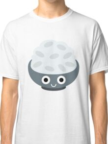 Rice Bowl Emoji Shock and Surprise Classic T-Shirt