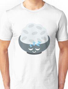 Rice Bowl Emoji Sleep and Dream Unisex T-Shirt
