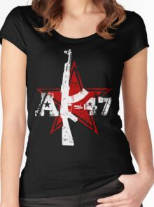 AK-47 Women's Fitted Scoop T-Shirt