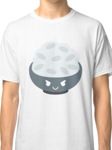 Rice Bowl Emoji Naughty and Cheeky Classic T-Shirt