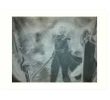 Final Fantasy 7 Cloud  Art Print