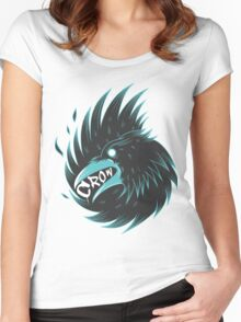 Eating Crow Women's Fitted Scoop T-Shirt