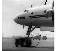 Lockheed L-1049G Super Connie Photographic Print