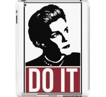 Janeway Says Do It iPad Case/Skin
