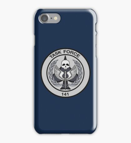 Task Force 141 Patch iPhone Case/Skin
