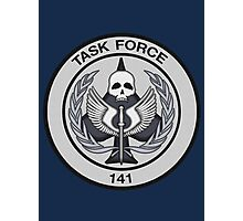 Task Force 141 Patch Photographic Print