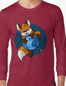 Cute Firefox Long Sleeve T-Shirt