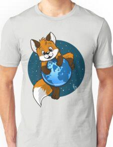 Cute Firefox Unisex T-Shirt