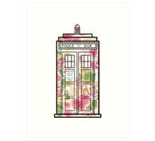 Rose TARDIS Art Print