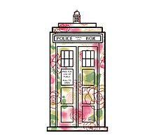 Rose TARDIS Photographic Print