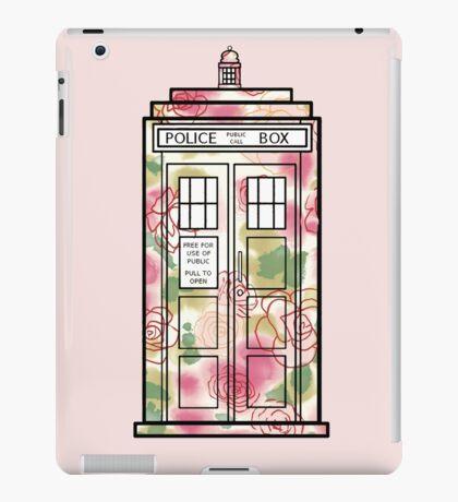 Rose TARDIS iPad Case/Skin