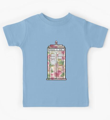 Rose TARDIS Kids Tee