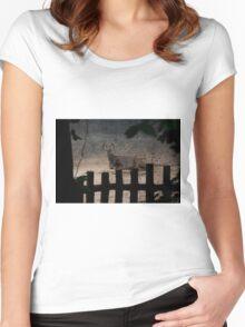 Deer  Women's Fitted Scoop T-Shirt