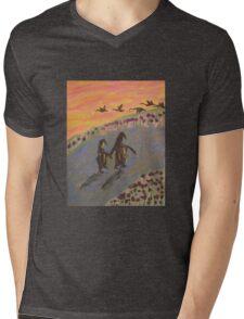 Penguin Two Step Mens V-Neck T-Shirt