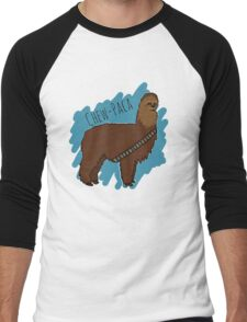 Chewbacca Alpaca Men's Baseball ¾ T-Shirt