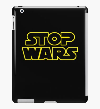 Star Wars Stop Wars iPad Case/Skin