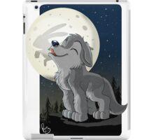Little Wolf Howling iPad Case/Skin