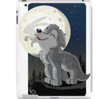 Little Wolf Howling iPad Case/Skin