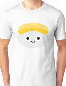 Egg Sushi Emoji Shock and Surprise Unisex T-Shirt