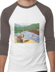 The Unfinished Painting Men's Baseball ¾ T-Shirt