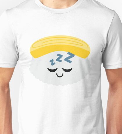 Egg Sushi Emoji Sleep and Dream Unisex T-Shirt