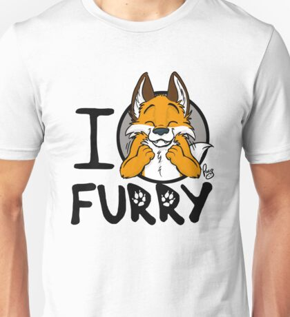 I grrarrrgh furry (fox version) Unisex T-Shirt