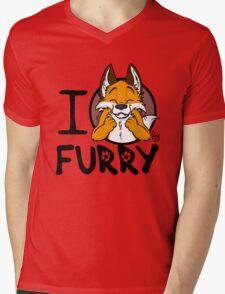 I grrarrrgh furry (fox version) Mens V-Neck T-Shirt