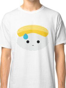 Egg Sushi Emoji Speechless with Sweat Classic T-Shirt