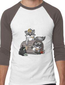 Raccoons grateful Men's Baseball ¾ T-Shirt