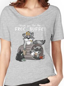 Raccoons grateful Women's Relaxed Fit T-Shirt